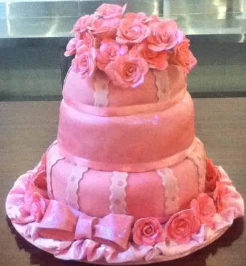 Wedding Fondant cake