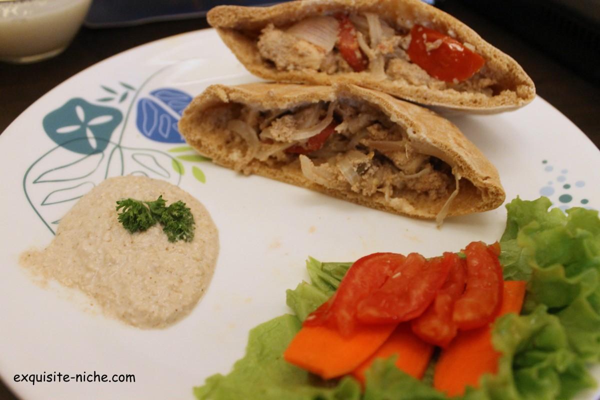 Lebanese: Chicken Shawarma