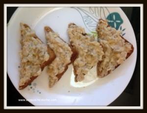 Mushroom Chicken Toast