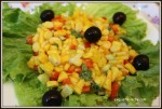 Mango Salad with Apple Cider Vinaigerette